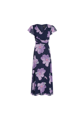 Adrianna Papell Floral Printed Fit And Flare