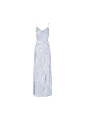 Adrianna Papell Shimmer Cowl Gown