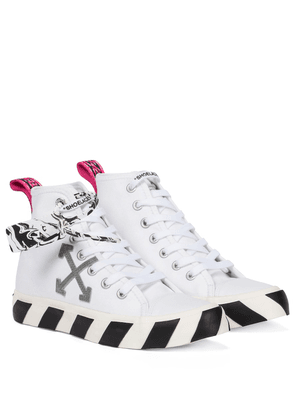 Exclusive to Mytheresa – Mid-top Vulcanized sneakers