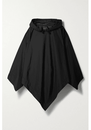 rag & bone - Addison Hooded Recycled Shell Poncho - Black