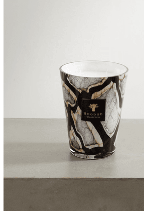 Baobab Collection - Stones Marble Max 24 Scented Candle, 5kg - Black