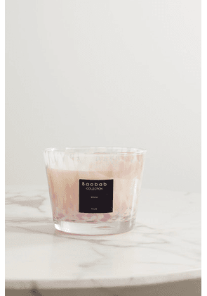 Baobab Collection - White Pearls Max 10 Scented Candle, 1.3kg - Cream