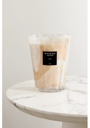Baobab Collection - White Pearls Max 24 Scented Candle, 5kg - Cream