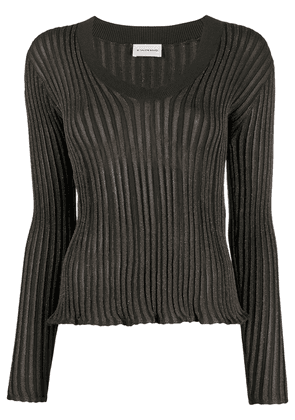 By Malene Birger ribbed-knit jumper - Green