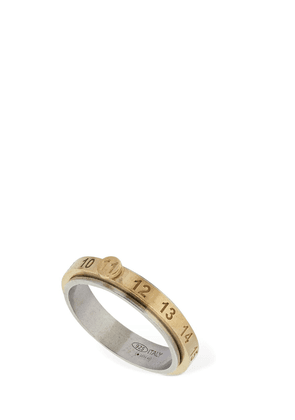 New Number '11' Two Tone Thin Ring