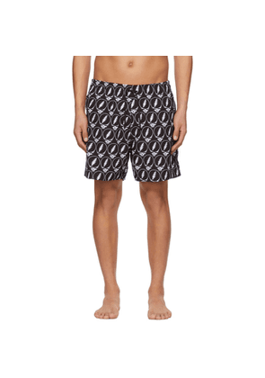 AMIRI Black Grateful Dead Edition Skull Swim Shorts