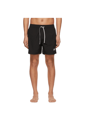 AMIRI Black Logo Swim Shorts