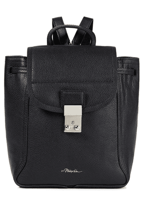 3.1 Phillip Lim Pebbled-leather Backpack Woman Black Size --