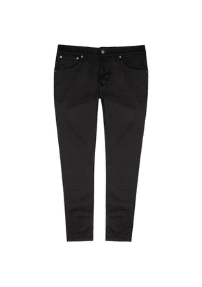 Nudie Jeans Tight Terry Black Skinny Jeans