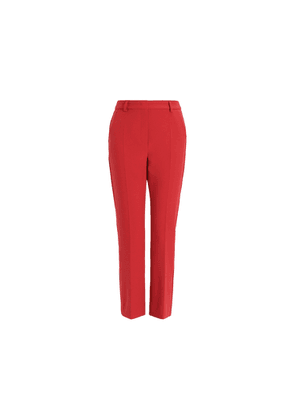 Weekend Max Mara Viscose Canvas Trousers