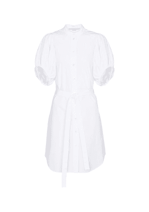 Anastasia cotton shirt minidress