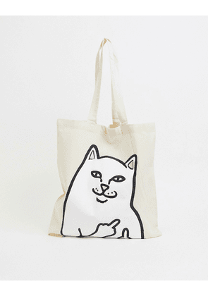 RIPNDIP Lord Nermal tote bag in cream-White