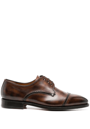 Bontoni lace-up Derby shoes - Brown