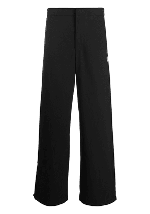Acne Studios face patch track pants - Black