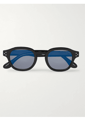 CUTLER AND GROSS - Round-Frame Acetate Sunglasses - Men - Black