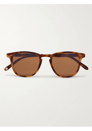 GARRETT LEIGHT CALIFORNIA OPTICAL - Brooks 47 Square-Frame Tortoiseshell Acetate Sunglasses - Men - Tortoiseshell