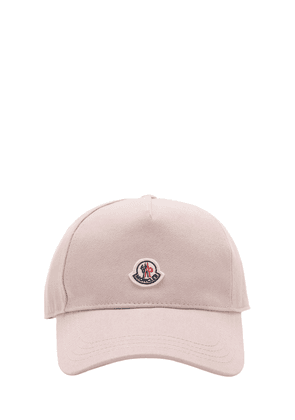 Logo Cotton Canvas Cap