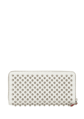 Panettone Leather Spikes Zipped Wallet