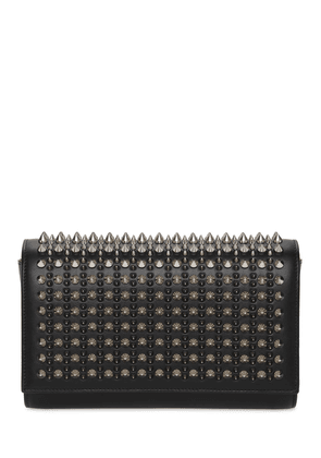 Paloma Leather Spikes Clutch