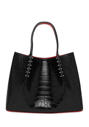 Cabarock Croc Embossed Tote Bag
