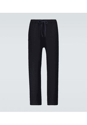Relaxed-fit drawstring pants