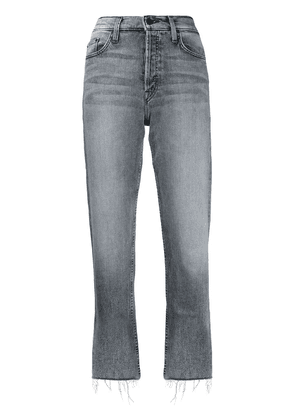 MOTHER Tomcat high-rise jeans - Grey