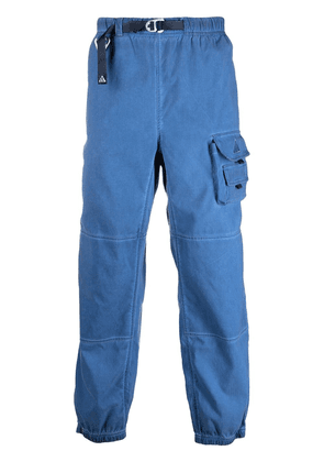 Nike belted cargo trousers - Blue