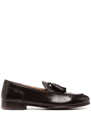 Alberto Fasciani tassel-detail loafers - Brown
