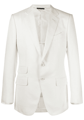 TOM FORD single-breasted tailored blazer - White