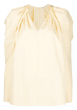 Givenchy puff-sleeve blouse - Yellow