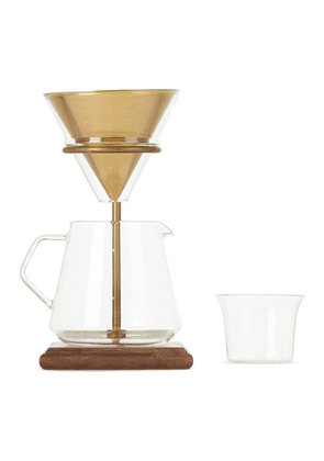 KINTO Gold Brewer Stand Set