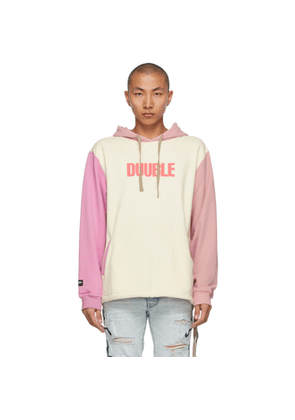Double Rainbouu Beige and Purple Couch Surf Hoodie