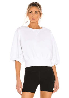 Free People X FP Movement Lead The Pack Layer Top in White. Size L, M, XS.