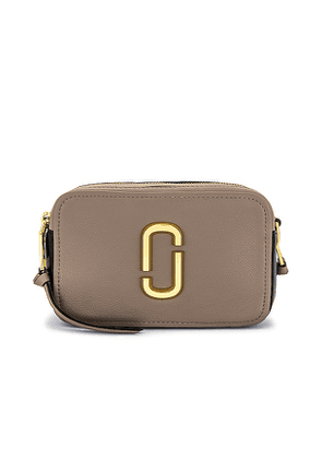 Marc Jacobs The Softshot 21 Bag in Taupe.