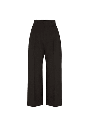 Jacquemus Le Pantalon Santon Black Wide-leg Trousers