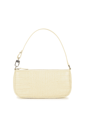 BY FAR Rachel Crocodile-effect Leather Shoulder Bag