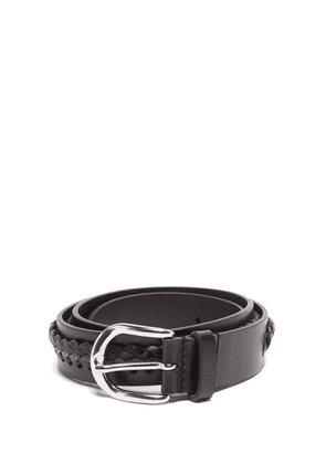 Isabel Marant - Zadi Laced Leather Belt - Womens - Black