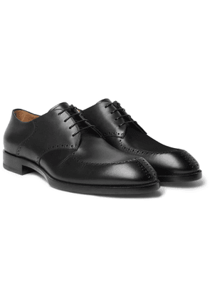 CHRISTIAN LOUBOUTIN - A Mon Homme Leather Brogues - Men - Black