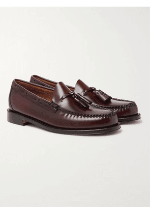 G.H. Bass & Co. - Weejuns Heritage Larkin Leather Tasselled Loafers - Men - Burgundy