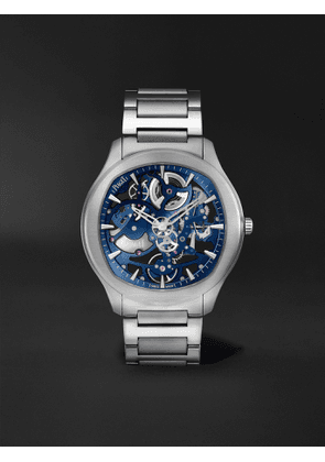 PIAGET - Polo Skeleton Automatic 42mm Stainless Steel Watch, Ref. No. G0A45004 - Men - Blue