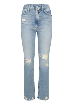 Rider High Waisted Distressed Jeans