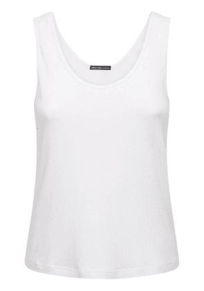 Relaxed Cotton Ribbed Tank Top