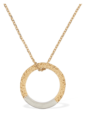 Maison Margiela Necklace W/two Tone Ring