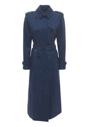 Waterloo Cotton Canvas Trench Coat