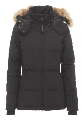 Chelsea Hooded Down Parka Coat