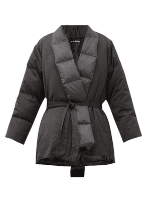 Holden - Quilted Down Wrap Jacket - Womens - Black