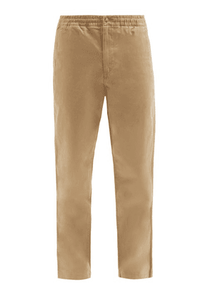 Polo Ralph Lauren - Prepster Logo-embroidered Cotton-blend Trousers - Mens - Tan