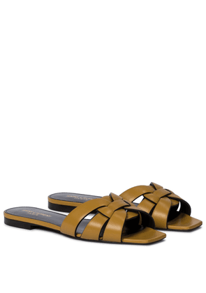 Tribute Nu Pieds 05 leather slides