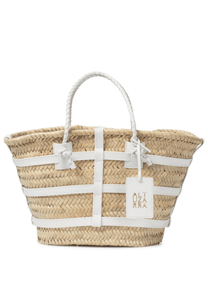 Watermill Small raffia tote