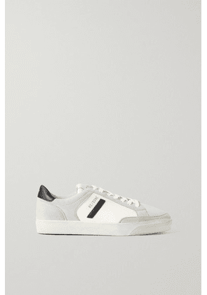 RE/DONE - + Net Sustain 90s Skate Recycled Faux Suede And Leather Sneakers - White